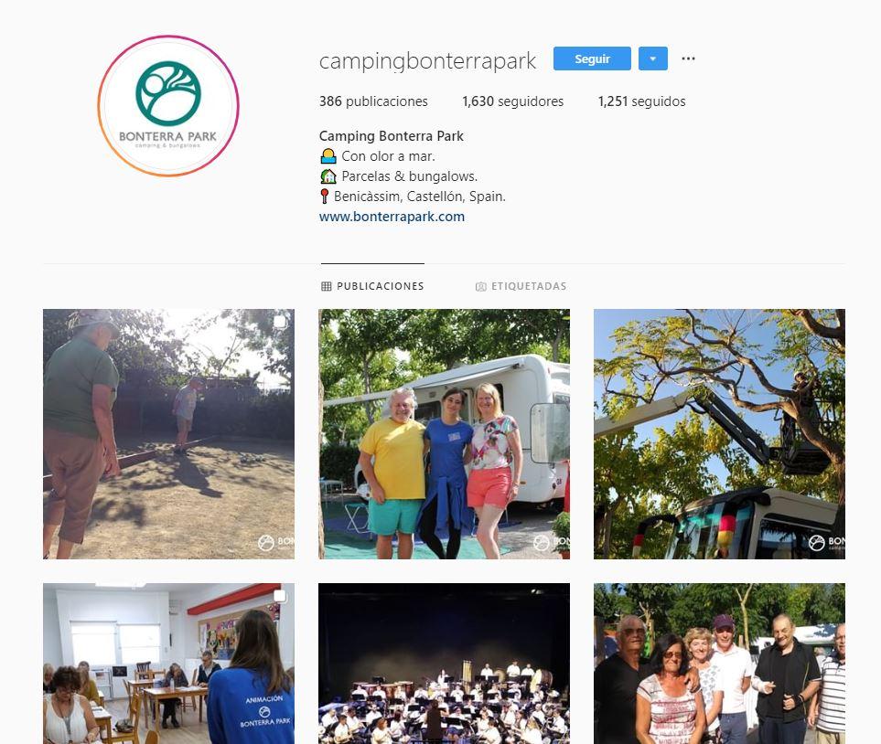 Bonterra Park en redes sociales