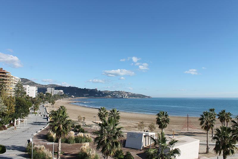 Playas de Benicàssim desde la Torre San Vicente