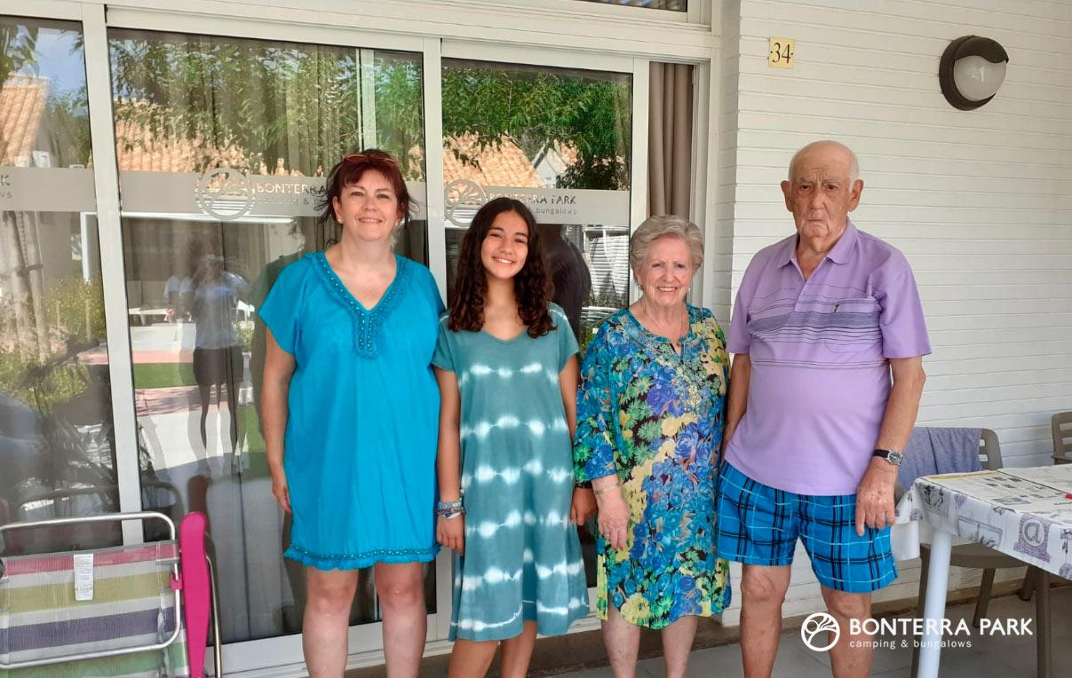 Happy Campers Bonterra, familia Millán