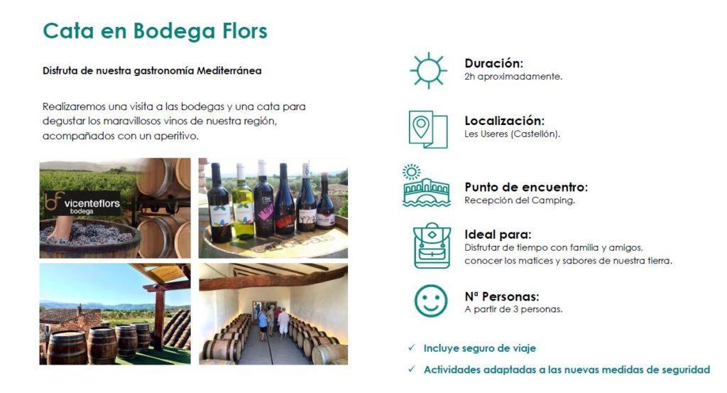 Cata en Bodega Flors, les Useres