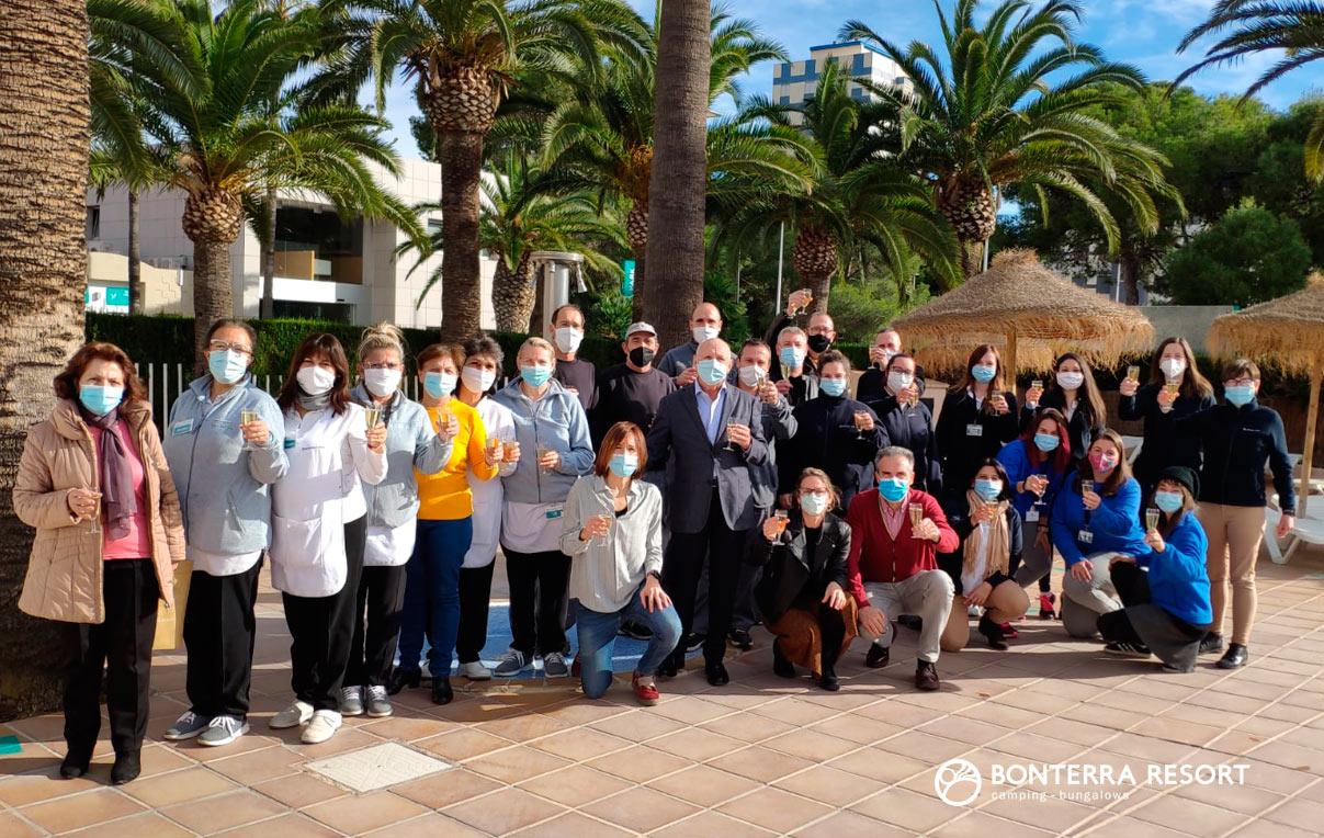 Equipo Bonterra Resort 5 estrellas