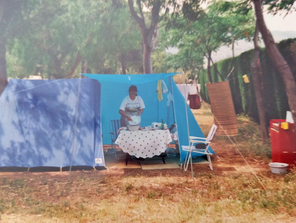 Historia de Ana, happy camper en Bonterra