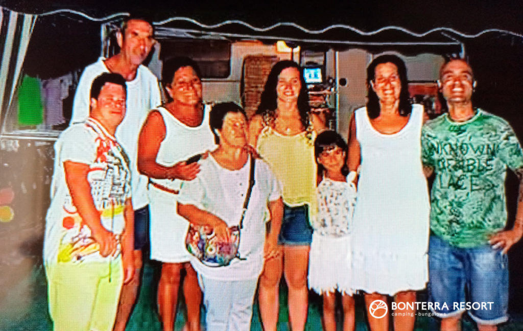 Historia de Silvia, happy camper en Bonterra