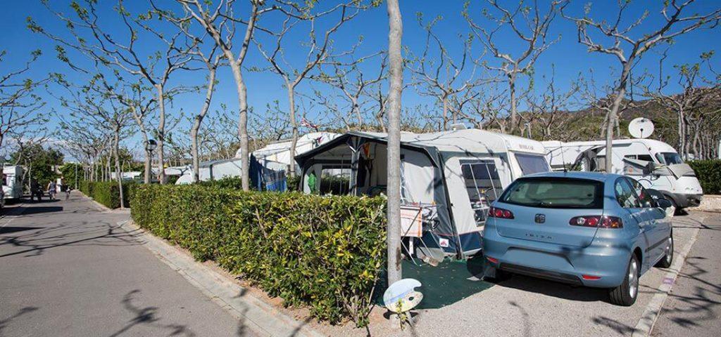 Parcela Estándar Plus camping Benicàssim