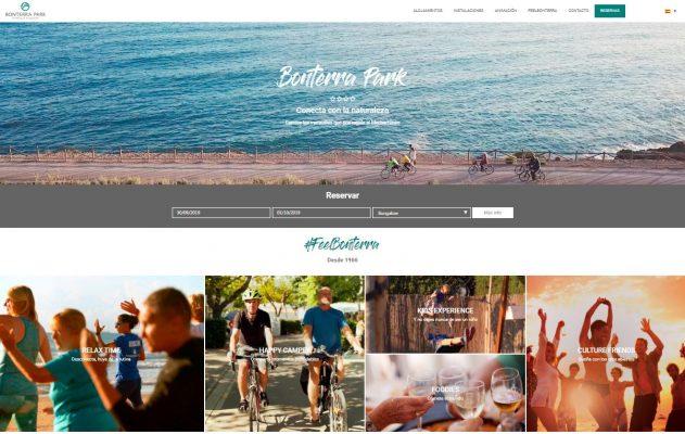 Página de inicio Bonterra Park